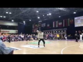 BA IDO World Champion | Thabo Treffers | Hip Hop Battles Solo | ZA