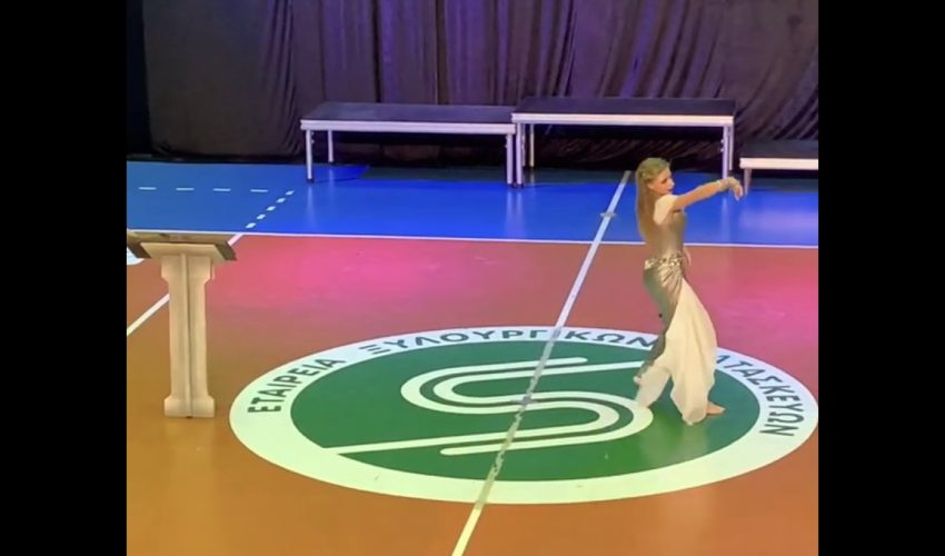 BA IDO World Champion | Valeria Tatarintseva | Show Belly Dance Solo Female | RU