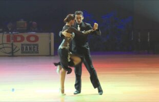Andrea Vighi and Chiara Benati, IDO World Gala 2015