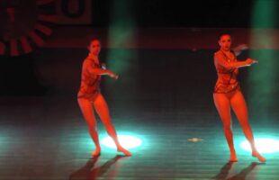 Lana Smolnikar and Klara Senica, SLO | Show Dance duo | 4th IDO Gala World Event | Riesa 2018
